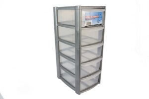 plastic storage box shelf