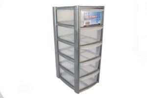 plastic storage box shelf